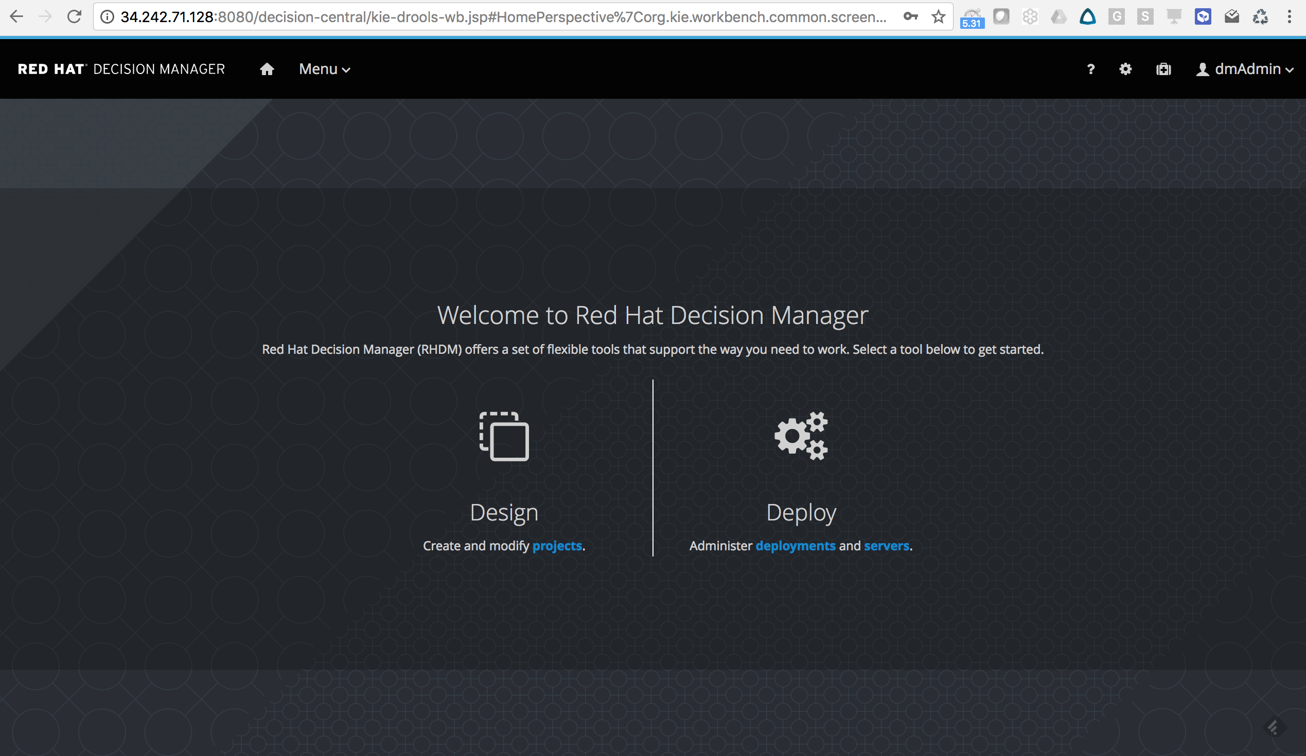 RedHat Decision Manager 7